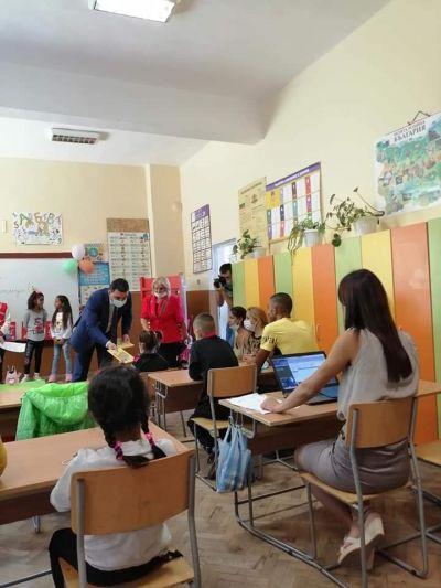 Първи клас - ОУ Васил Левски - Преселенци